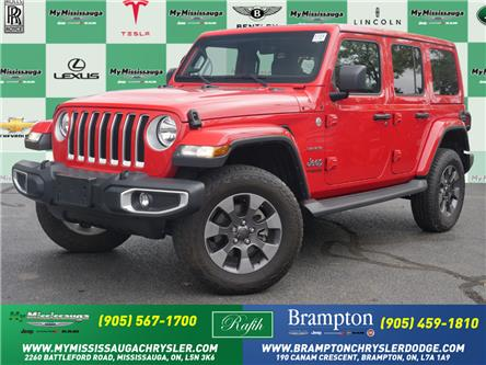 2019 Jeep Wrangler Unlimited Sahara (Stk: 1771) in Mississauga - Image 1 of 24