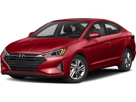 2019 Hyundai Elantra Preferred (Stk: U3276) in Saint John - Image 1 of 4