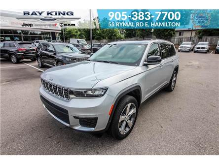 2021 Jeep Grand Cherokee L Limited (Stk: 217625) in Hamilton - Image 1 of 26