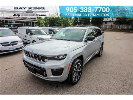 2021 Jeep Grand Cherokee L Overland (Stk: 217614) in Hamilton - Image 1 of 30