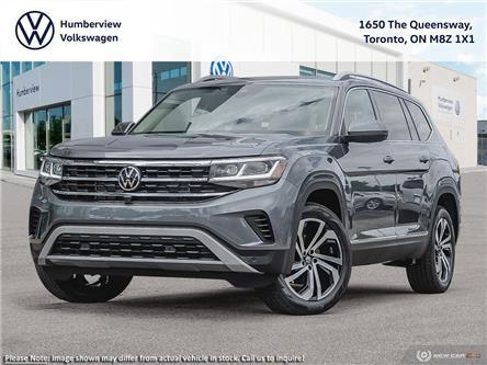 2021 Volkswagen Atlas 3.6 FSI Execline (Stk: 98974) in Toronto - Image 1 of 23