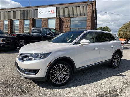 2017 Lincoln MKX Reserve (Stk: C6521) in Concord - Image 1 of 5