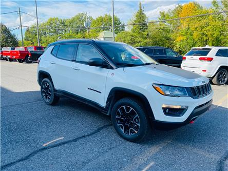 2021 Jeep Compass Trailhawk (Stk: B21-435) in Cowansville - Image 1 of 12
