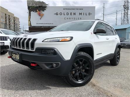 2016 Jeep Cherokee Trailhawk (Stk: P5625) in North York - Image 1 of 29