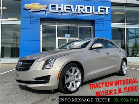 2015 Cadillac ATS 2.0L Turbo (Stk: X8607A) in Ste-Marie - Image 1 of 27