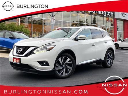 2016 Nissan Murano Platinum (Stk: B7050B) in Burlington - Image 1 of 23