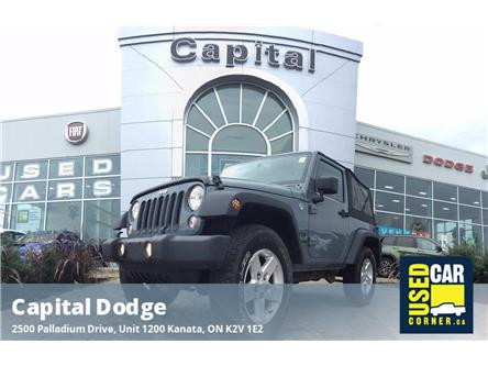 2015 Jeep Wrangler Sport (Stk: P3202A) in Kanata - Image 1 of 14