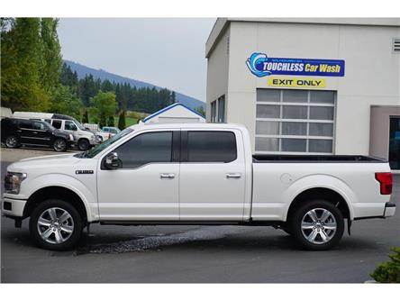 2018 Ford F-150 Platinum (Stk: P3778) in Salmon Arm - Image 1 of 15