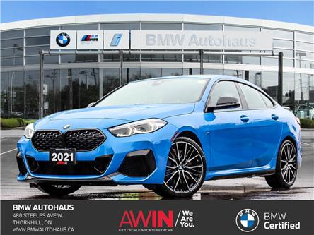 2021 BMW M235i xDrive Gran Coupe (Stk: P10834) in Thornhill - Image 1 of 38