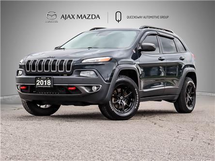 2018 Jeep Cherokee Trailhawk (Stk: P5945) in Ajax - Image 1 of 29
