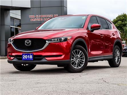 2018 Mazda CX-5 GS (Stk: N210783A) in Markham - Image 1 of 4