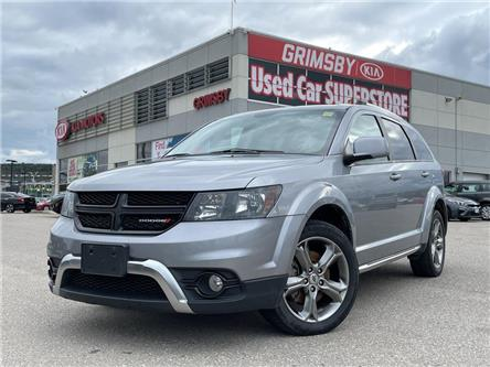 2018 Dodge Journey Crossroad AWD | Leather | Dual Climate (Stk: U2084A) in Grimsby - Image 1 of 19