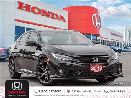 2019 Honda Civic Sport Touring (Stk: U5203) in Cambridge - Image 1 of 27