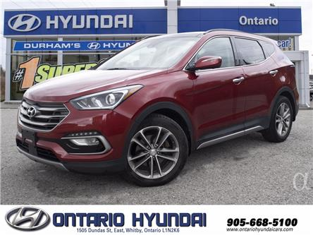 2017 Hyundai Santa Fe Sport 2.0T Ultimate (Stk: 378877A) in Whitby - Image 1 of 10