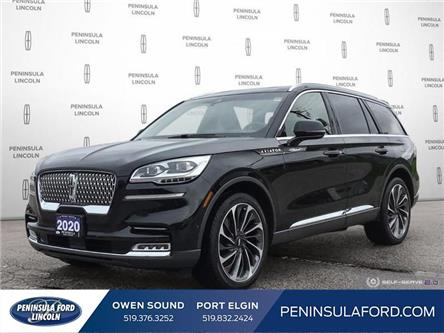 2020 Lincoln Aviator Reserve (Stk: 2403) in Owen Sound - Image 1 of 25