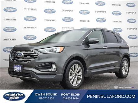 2019 Ford Edge Titanium (Stk: 2409) in Owen Sound - Image 1 of 25