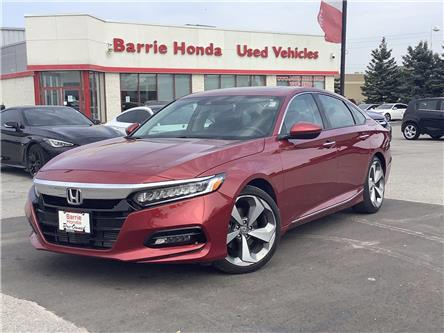 2019 Honda Accord Touring 1.5T (Stk: 11-21845A) in Barrie - Image 1 of 23