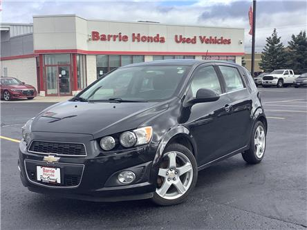 2015 Chevrolet Sonic LT Auto (Stk: 11-21652A) in Barrie - Image 1 of 22
