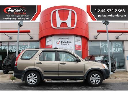 2006 Honda CR-V SE (Stk: 23157W) in Greater Sudbury - Image 1 of 20