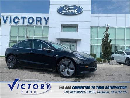 2019 Tesla Model 3  (Stk: V2826A) in Chatham - Image 1 of 21