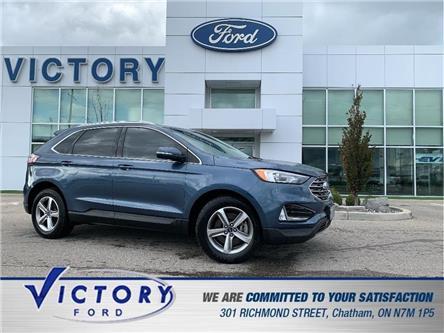 2019 Ford Edge SEL (Stk: V6079LB) in Chatham - Image 1 of 27