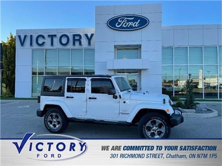2013 Jeep Wrangler Unlimited Sahara (Stk: V4393A) in Chatham - Image 1 of 19