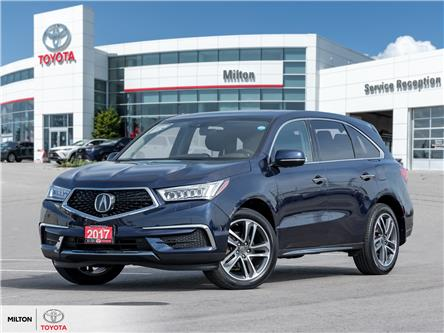 2017 Acura MDX Navigation Package (Stk: 505255) in Milton - Image 1 of 26