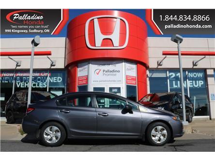 2015 Honda Civic LX (Stk: BC0215) in Greater Sudbury - Image 1 of 34