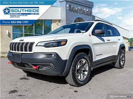 2019 Jeep Cherokee Trailhawk (Stk: GD2123A) in Red Deer - Image 1 of 25
