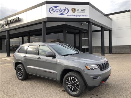 2021 Jeep Grand Cherokee Trailhawk (Stk: 5M223) in Medicine Hat - Image 1 of 18