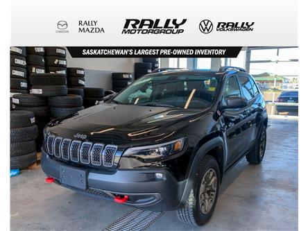 2020 Jeep Cherokee Trailhawk (Stk: V1692) in Prince Albert - Image 1 of 11