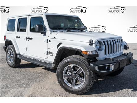 2021 Jeep Wrangler Unlimited Sahara (Stk: 35411D) in Barrie - Image 1 of 24