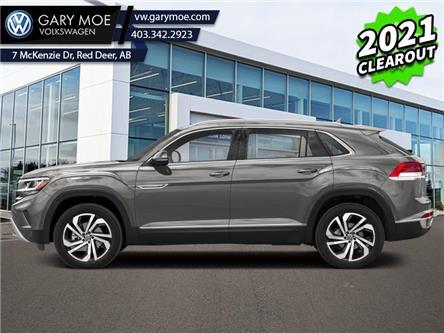 2021 Volkswagen Atlas Cross Sport Execline 3.6 FSI (Stk: 1CS7635) in Red Deer County - Image 1 of 2