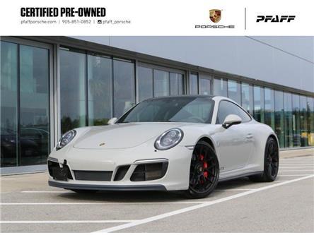 2018 Porsche 911 Carrera 4 GTS Coupe (Stk: U10057) in Vaughan - Image 1 of 30