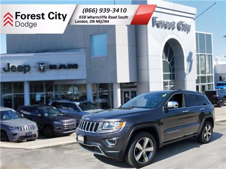 2015 Jeep Grand Cherokee Limited (Stk: PM0259A) in London - Image 1 of 12