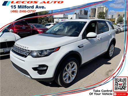 2016 Land Rover Discovery Sport HSE (Stk: 593159) in Toronto - Image 1 of 11