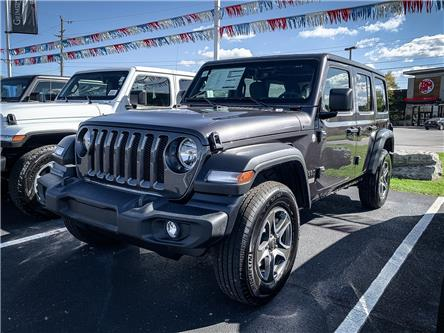 2021 Jeep Wrangler Unlimited Sport (Stk: N21324) in Grimsby - Image 1 of 6