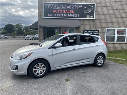 2013 Hyundai Accent GL (Stk: -) in Kingston - Image 1 of 15