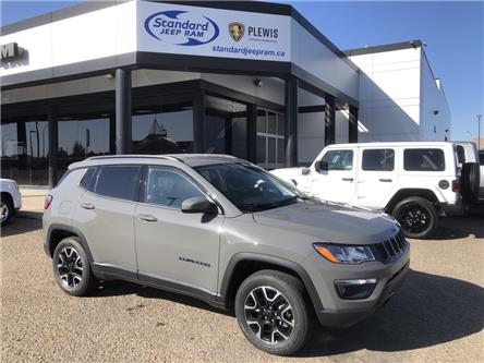 2021 Jeep Compass Sport (Stk: 5M197) in Medicine Hat - Image 1 of 17