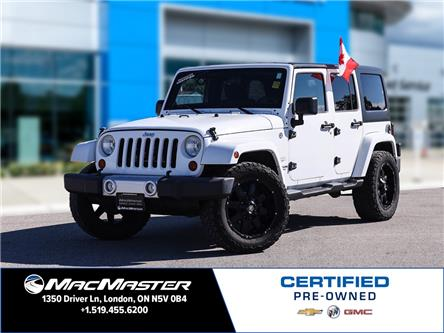 2012 Jeep Wrangler Unlimited Sahara (Stk: 210762A) in London - Image 1 of 22