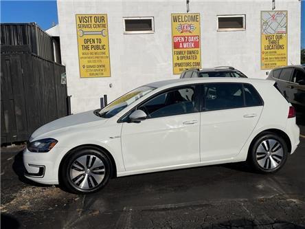 2016 Volkswagen e-Golf SEL Premium, Navi, Leather, Plug In Electric, (Stk: 51204) in Burlington - Image 1 of 27