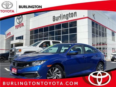 2019 Honda Civic EX (Stk: U11820A) in Burlington - Image 1 of 22
