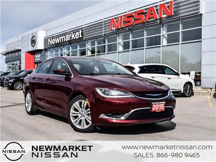2015 Chrysler 200 Limited (Stk: 21K002A) in Newmarket - Image 1 of 23
