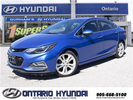 2017 Chevrolet Cruze Premier Auto (Stk: 00349A) in Whitby - Image 1 of 25