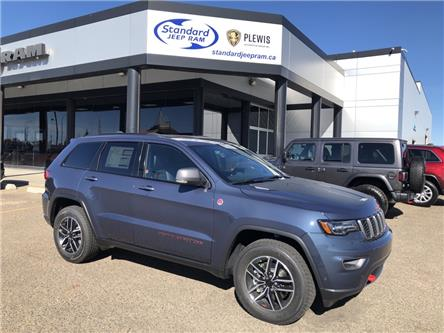 2021 Jeep Grand Cherokee Trailhawk (Stk: 5M213) in Medicine Hat - Image 1 of 19