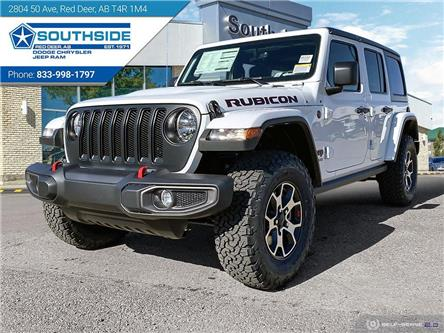 2021 Jeep Wrangler Unlimited Rubicon (Stk: WR2152) in Red Deer - Image 1 of 25