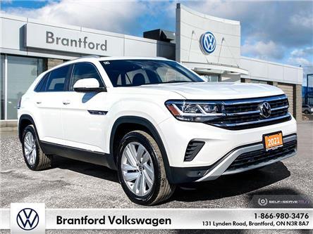 2021 Volkswagen Atlas Cross Sport 3.6 FSI Highline (Stk: AS21850) in Brantford - Image 1 of 26