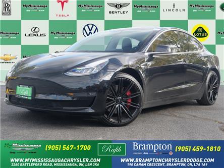 2019 Tesla Model 3 Performance (Stk: 1756) in Mississauga - Image 1 of 23