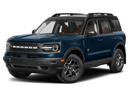 2021 Ford Bronco Sport Badlands (Stk: VBS20524) in Chatham - Image 1 of 9