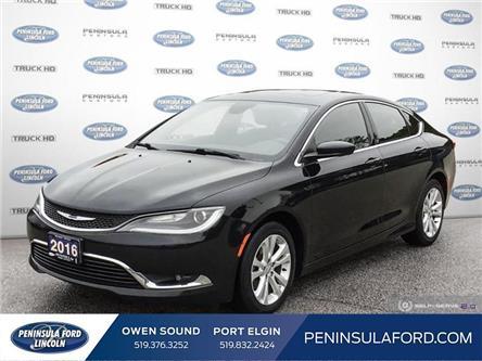 2016 Chrysler 200 Limited (Stk: 21ED11A) in Owen Sound - Image 1 of 25
